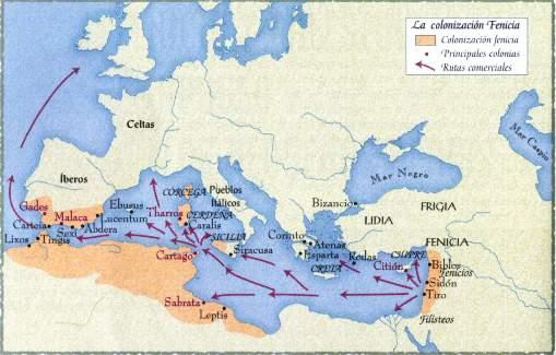 La civilización Fenicia