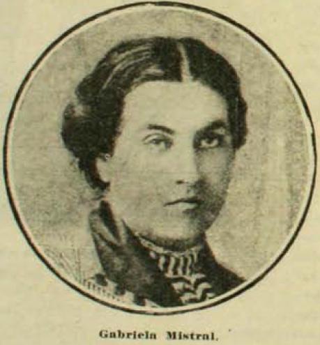 Gabriela Mistral 1920. Pacífico magazine