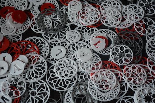 guirnaldas impresas en 3D
