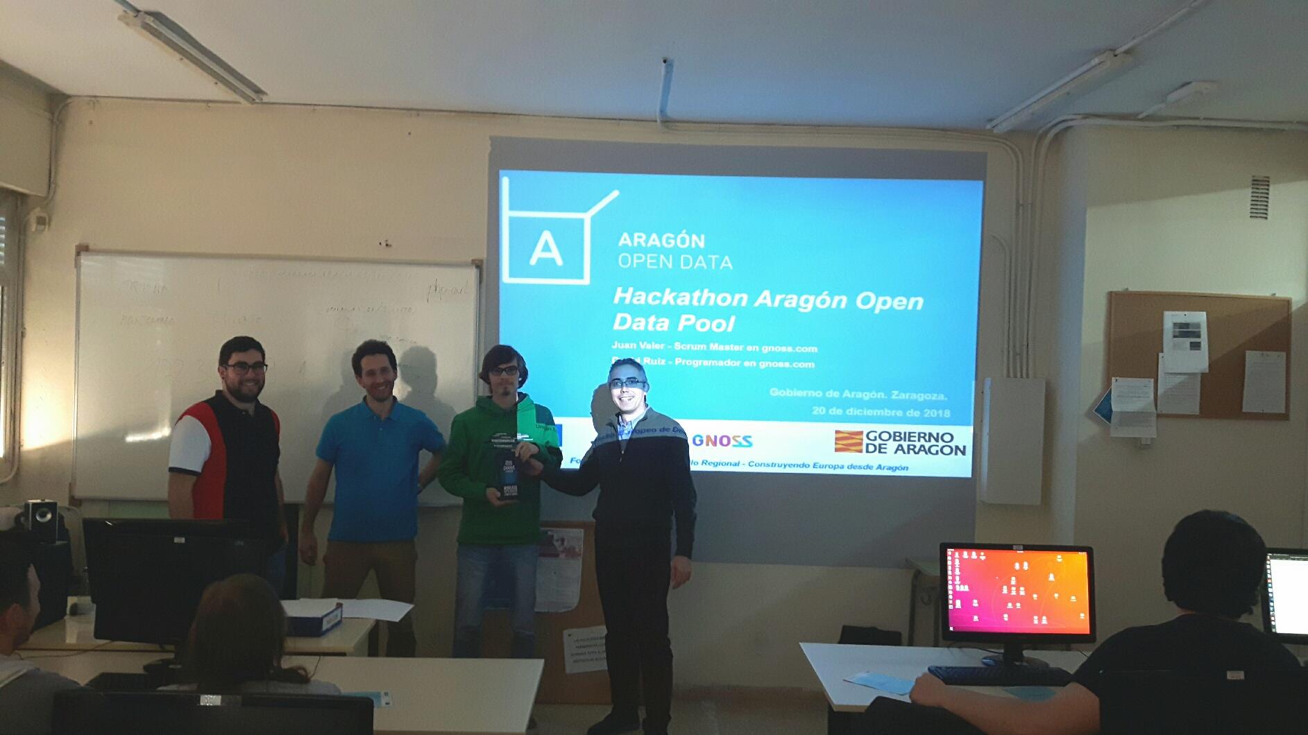Aragón Open Data Pool se ha presentado con un hackathon en el CPIF Los Enlaces