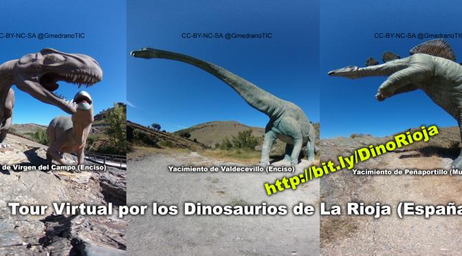 """Tour Virtual de la Ruta de """"Dinosaurios en La Rioja"""" para utilizar con VR"""