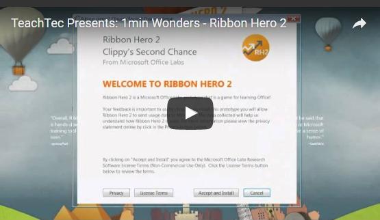 How to use Ribbon Hero