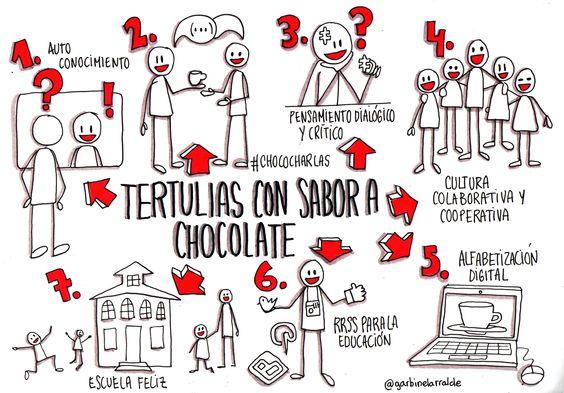Tertulias con sabor a chocolate
