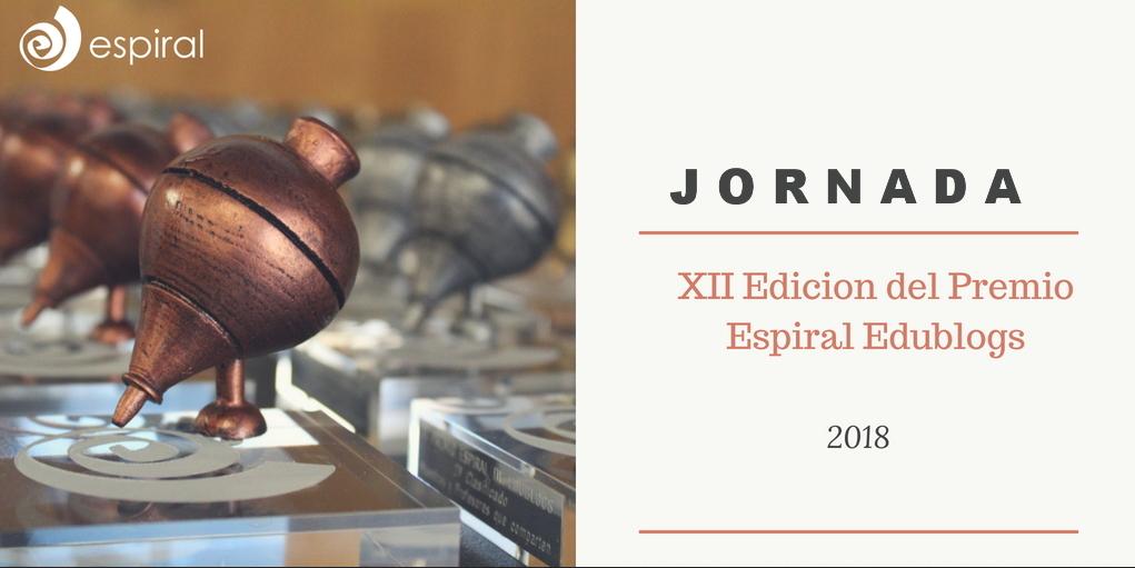 Programa de la jornada XII Edición Premio Espiral