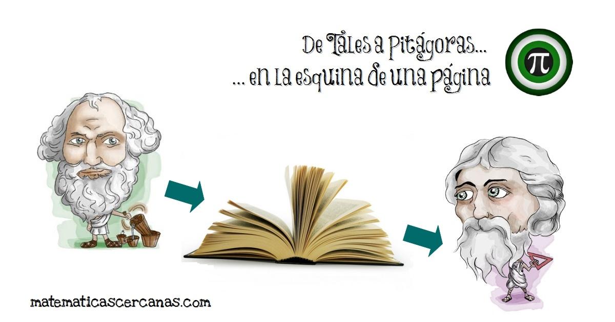 De Tales a Pitágoras en la esquina de una página