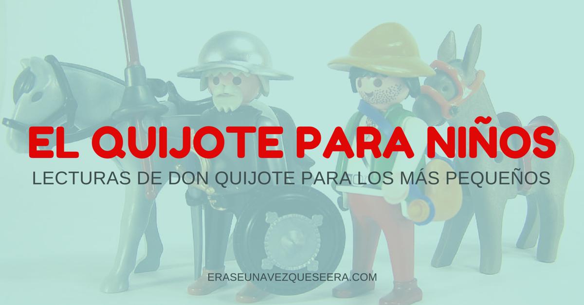 Lecturas del #Quijote para niños