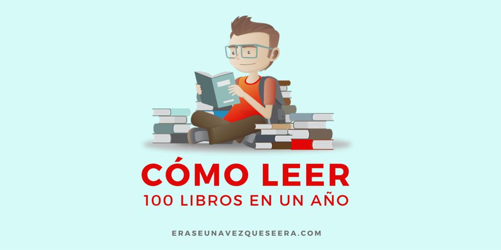 Cómo leer 100 libros en un año (infografía)