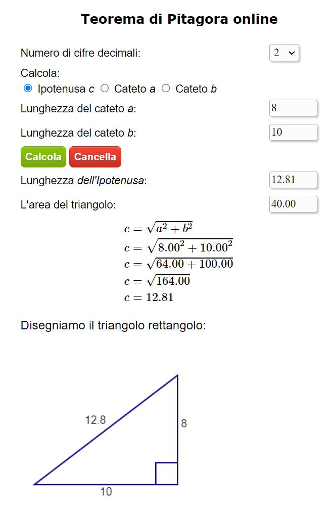 Cacolatrice del Teorema di Pitagora