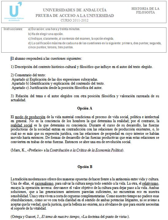 Filosofía 5 Andalucía