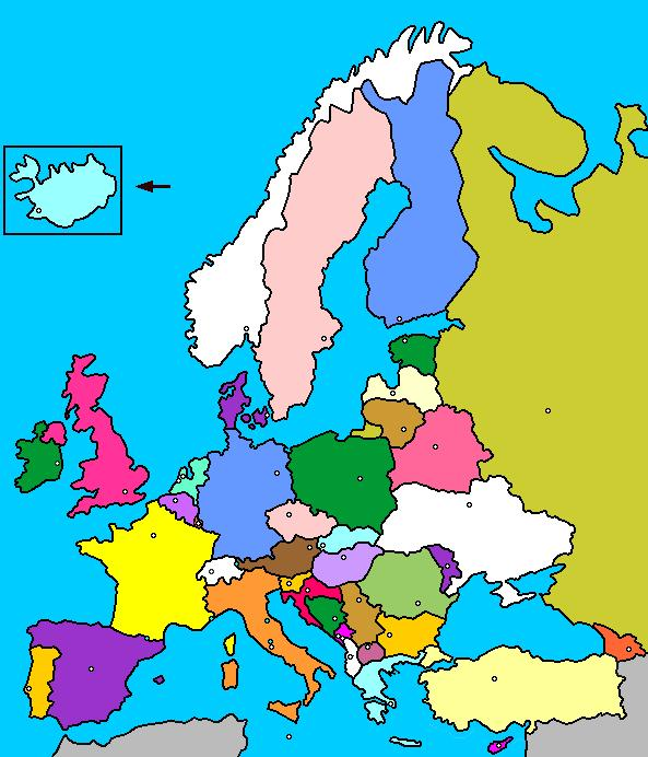 Mapa Politico Europa Interactivo Capitales.Mapa Interactivo De Europa Paises Y Capitales Luventicus