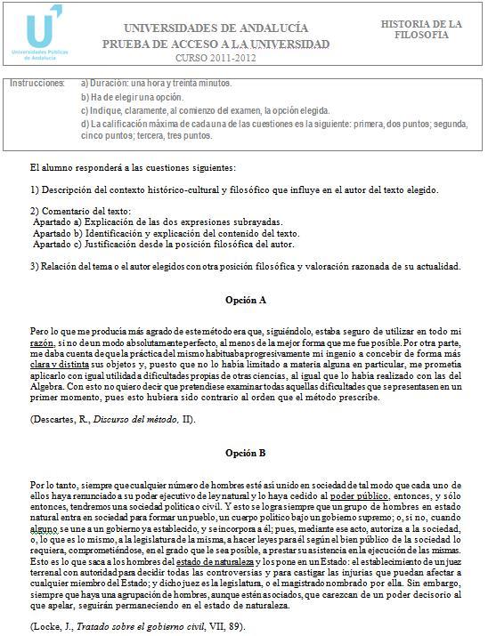 Filosofía 3 Andalucía