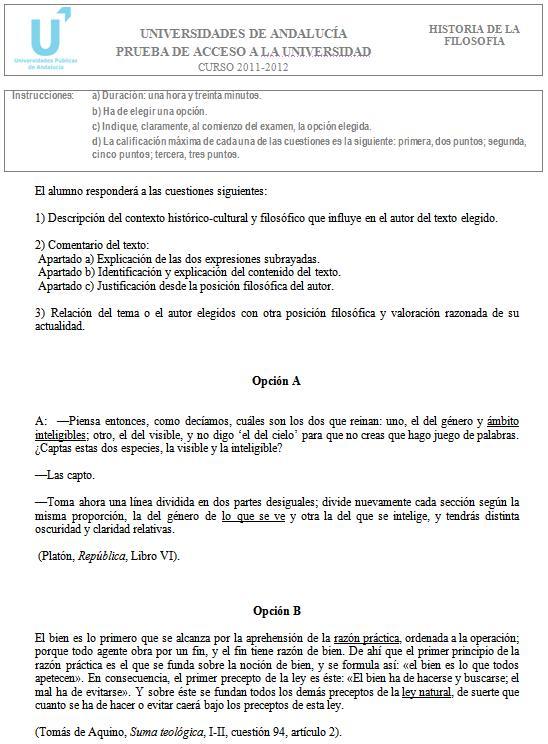 Filosofía 2 Andalucía