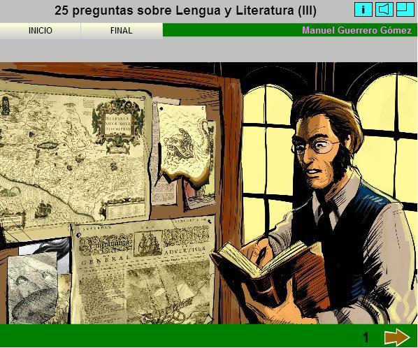25 preguntas sobre Lengua y Literatura III