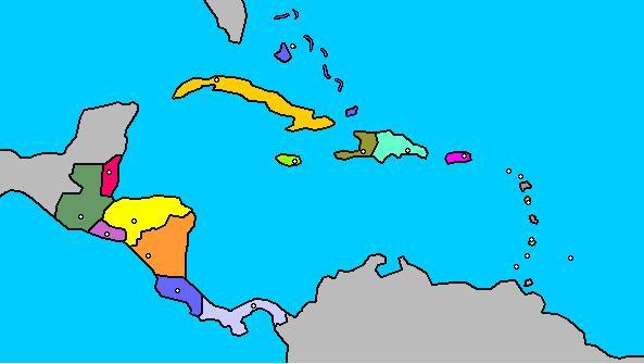 América central y el Caribe