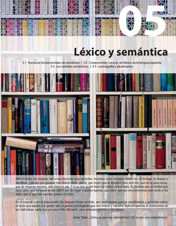 léxico y semántica