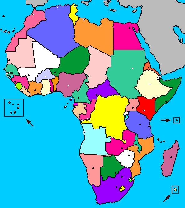 Mapa De Africa Interactivo.Mapa Interactivo De Africa Paises Y Capitales Luventicus