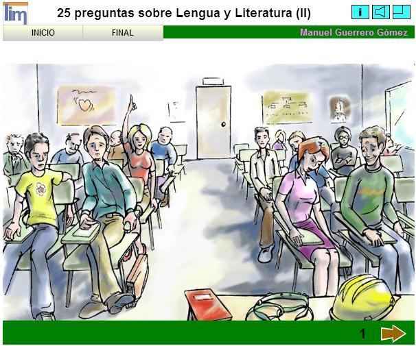 25 preguntas sobre Lengua y Literatura