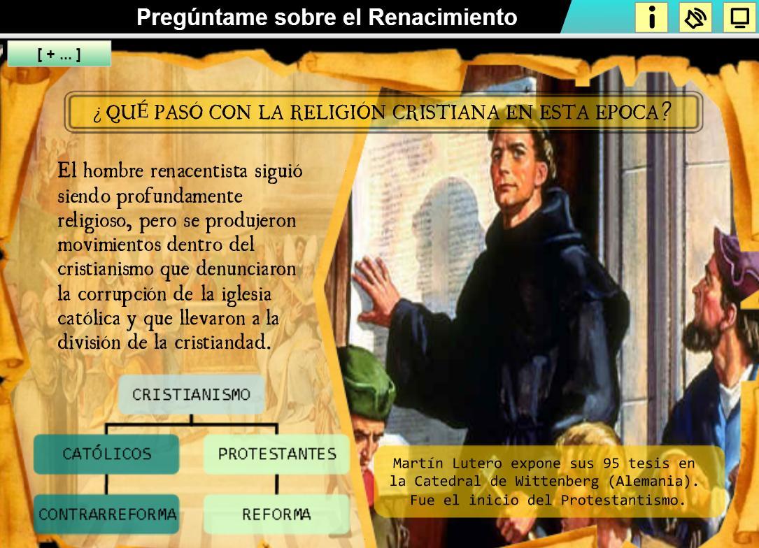 Pregúntame sobre el Renacimiento