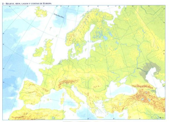 Mares de Europa