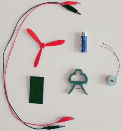 A5.1 Células  solares. Experimento de electricidad para niños de 8 a 12 años
