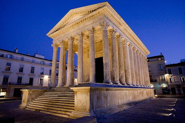 Maison Carrée: comentario histórico-artístico