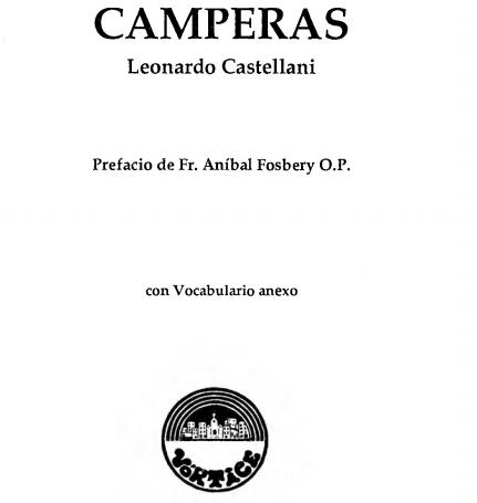 Camperas: Bichos y personas. Fábulas de Leonardo Castellani