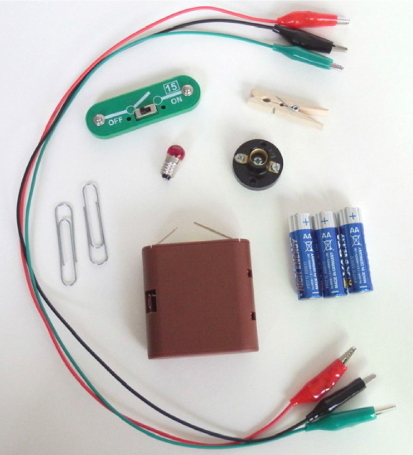 A1.2 Conexión y desconexión. Experimento de electricidad para niños de 8 a 12 años.
