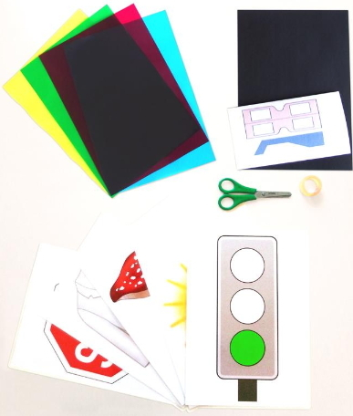 El sentido de la vista: La percepción de los colores. Experimento para niños de 8 a 12 años