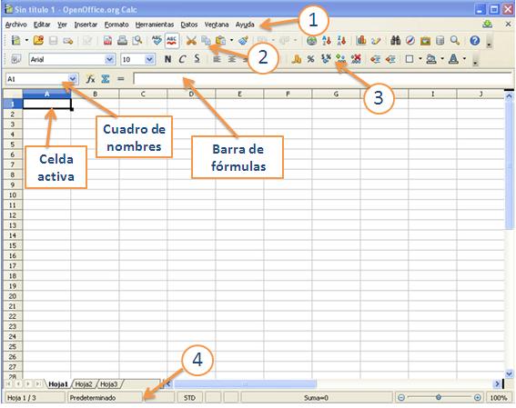 Formatos y herramientas de las hojas de cálculo
