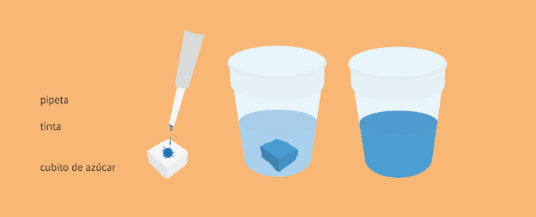 Visibilizar la contaminación del agua. Experimento de Medio Ambiente para niños de 4 a 7 años