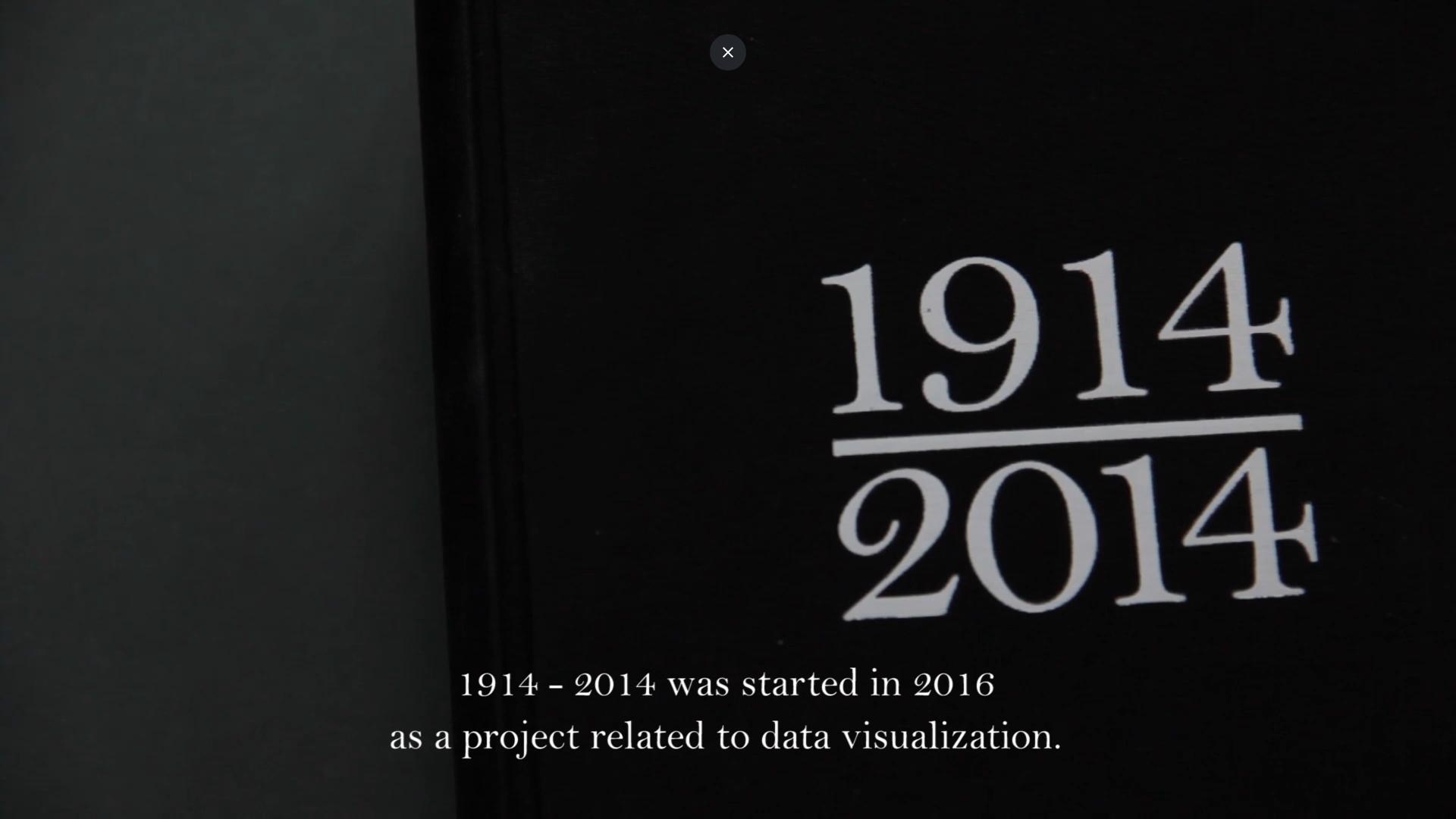 La muerte de las palabras: 1914-2014