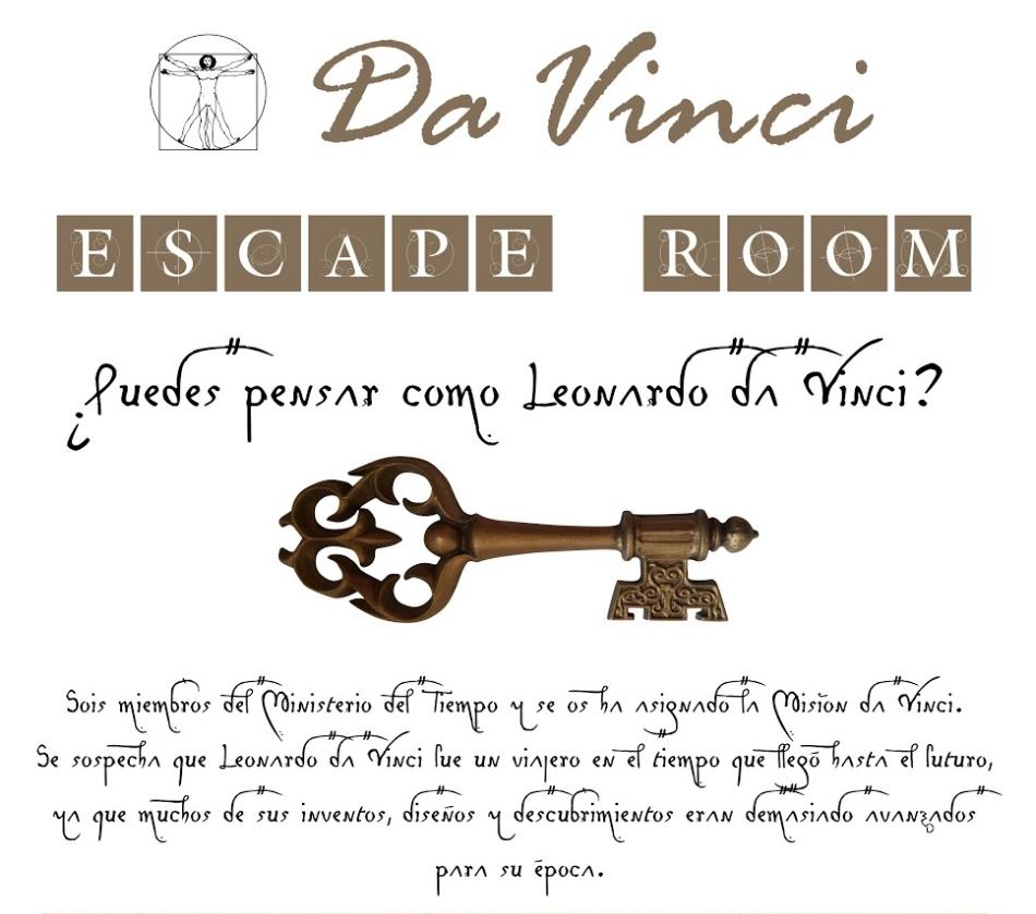 El Enigma da Vinci (Breakout Room)