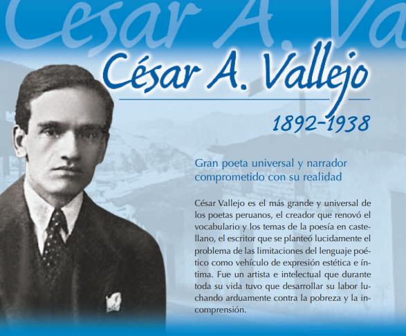 César Vallejo Perúeduca Didactalia Material Educativo