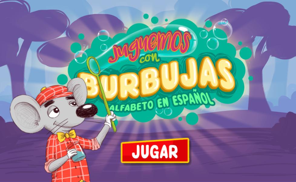 Juguemos con burbujas: alfabeto en español