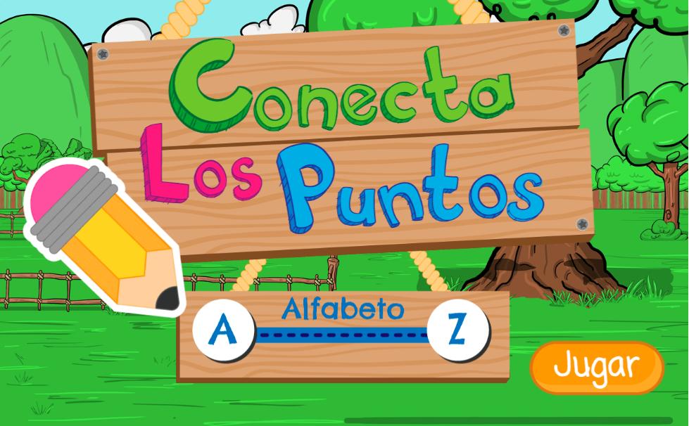 Conecta los puntos: alfabeto