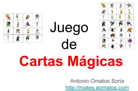 Un poco de magia matemática (MatemaTICzando la realidad)