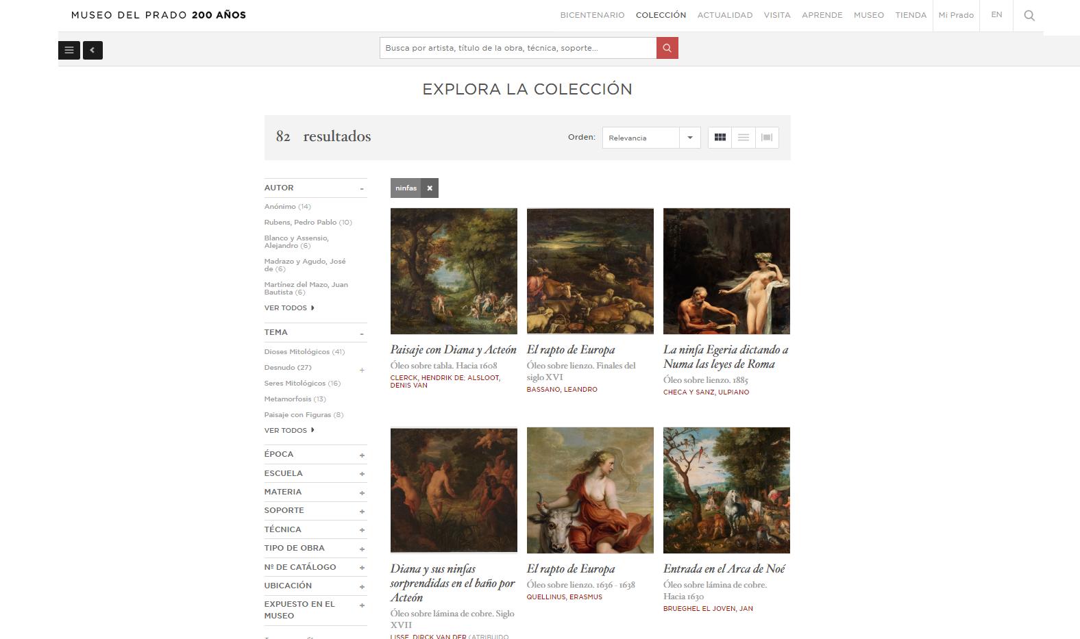 Grafos de conocimiento y bases de datos en grafo: conceptos fundamentales a partir de una 'obra maestra' del Museo del Prado