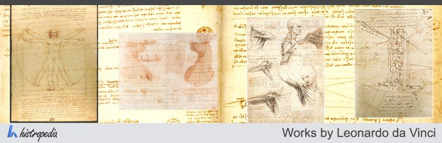 Works by Leonardo da Vinci. Timeline