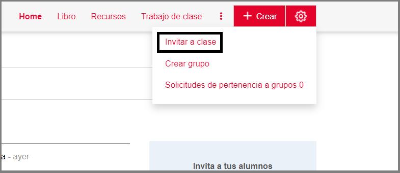 ¿Cómo invito alumnos a mi clase? (Clases Didactalia)