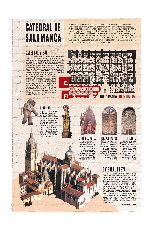 Catedral de Salamanca. Láminas de El Mundo