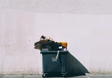 Cómo funciona la separación de basuras? La  separación de materiales en función de la densidad. Experimento de Medio ambiente