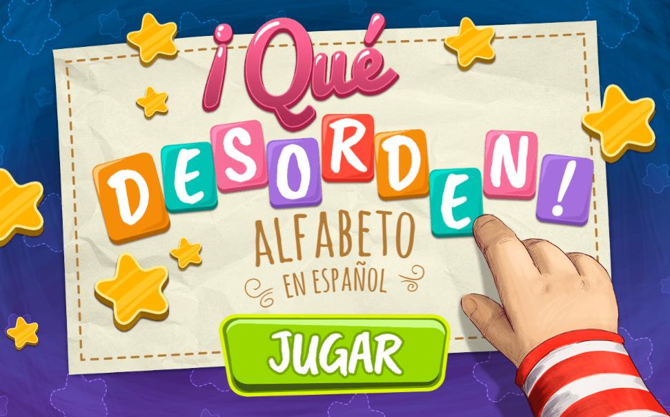 ¡Qué desorden! Alfabeto en español