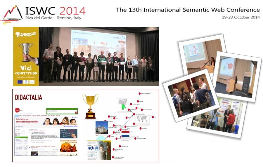 Didactalia: II Premio Vinci Competition (Linked-Up Challenge). Categoría mejor iniciativa en Linked Data en educación