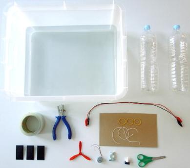 A5.2  Barco solar. Experimento de electricidad para niños de 8 a 12 años