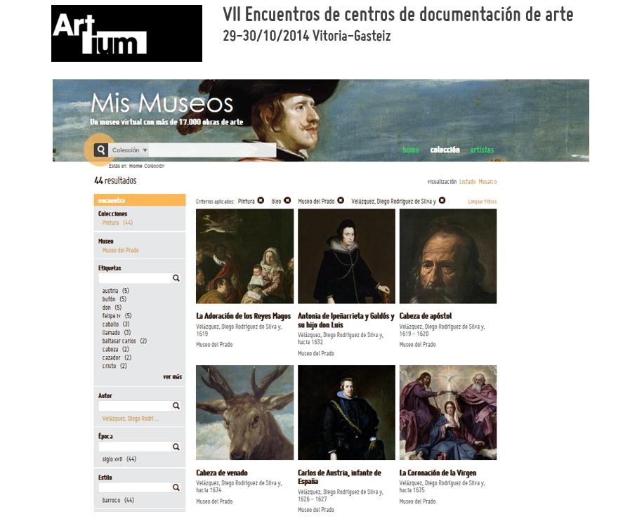 LINKED (OPEN) DATA en museos, bibliotecas y archivos: pon tus datos culturales a trabajar. El caso de Mismuseos.net