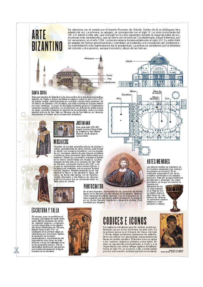 Arte Bizantino. Láminas de El Mundo