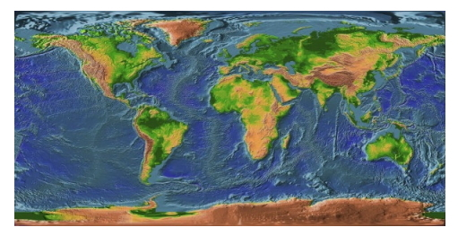 El relieve terrestre: Historia de la Tierra y de la vida