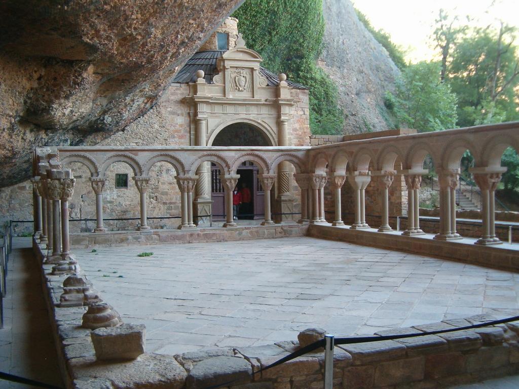 Capitel de la Última Cena. San Juan de la Peña.