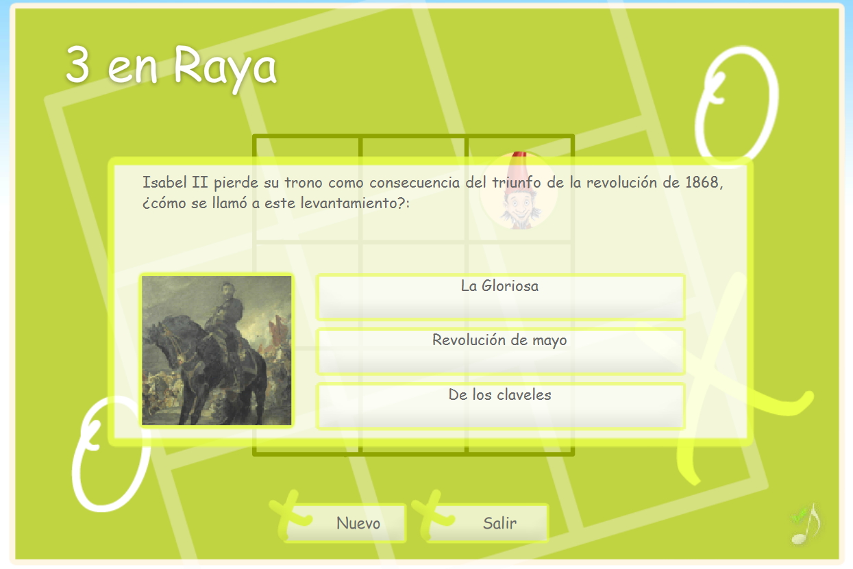 Juegos educativos de Historia de España del Museo del Ejército