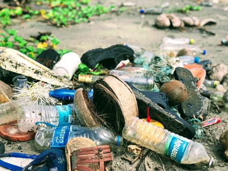 Caminata para recoger basura. Experimento de Medio Ambiente para niños de 4 a 7 años